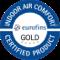Vivafloors IAC Gold gecertificeerd
